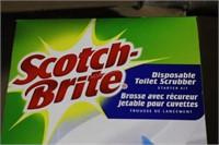 Pallet of 3M ScotchBrite Toilet Scrub Heads NEW