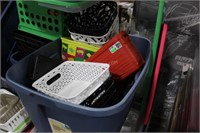 Pallet Lot of Various Containers and Totes