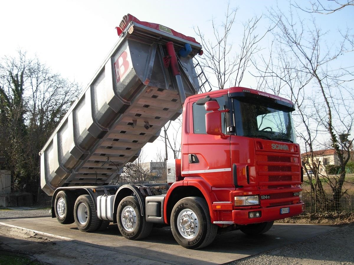 Scania R124G470 Second-hand