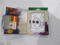 """""""Used"""" Crayola Mini Coloring Pages, Finding Dory"""