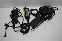 LOT OF ASSORTED LAPTOP POWER ADAPTERS