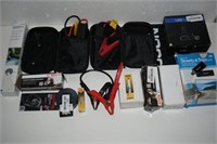 LOT OF ASSORTED CAR ACCESSORIES