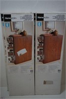 LOT OF 4 HOMESTYLES SINGLE DOOR KIT