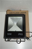 LE 50W RGB LED FLOOD LIGHT, DIMMABLE, 16-COLOR,