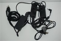 LOT OF ASSORTED LAPTOP POWER ADAPTERS- HP,