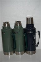 LOT OF 3 STANLEY THERMOS