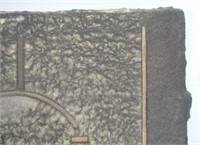 BERTRAND CASAUBON UNTITLED SUN THEMED CAST PAPER