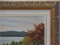 """UNSIGNED-ATTRIBUTED TO GEO. THOMSON """"LAKE ROSSEAU"""""""