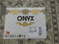 NEW 'ONYX' OPEN FIELD MACHINE MADE PERSIAN CARPET