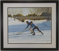 """KEN DANBY """"WITHIN OUR REACH"""" SIGNED L.E. PRINT"""