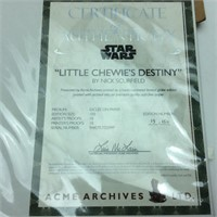 4 Star Wars Prints Limited 150 By Nick Scurfield