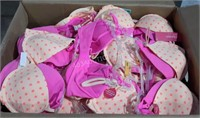 Lot of 120 Bras - Various Styles + Sizes