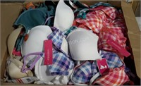 Lot of 140 Bras - Various Styles + Sizes
