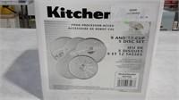 Kitchen Aid 5 Blade Food Processor Set - NEW $99