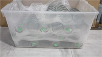 Box Lot of Glassware