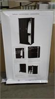 """72"""" Neatfreak Armoire With Sliding Curtain"""