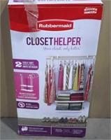 RubberMaid Closet Helper 2 Shelf Unit