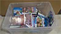 Box Lot of Leap Frog and Vtech Kids Games