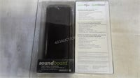 Lto of 2 Soundboard Portable Speakers - NEW