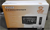"Pyle 32"" Hi-Definition LCD Flat Panel TV - NEW"