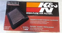Nascar K & N Air Filter 33-2255 - Washable NEW