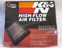 Nascar K & N Air Filter - Washable NEW