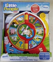 Fisher Price Little People See N' Say Toy