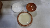 Lot of Various Dinnerware - Plates, Bowls