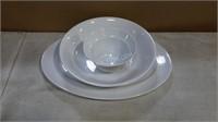 Lot of Various Dinnerware - Plates, Bowls