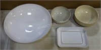 Lot of Various Bowls and Plates
