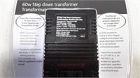 Air Canada 60W Step Down Transformer - NEW