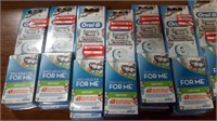 Lot of Oral B Ortho Replacement Brush Heads