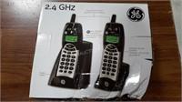 GE 2 Handset Wireless Phone Set