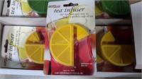 Hutzler Tea Infusers With Floor Display