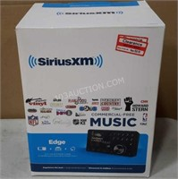 Sirius XM Edge Radio + Car + Home Player $60