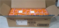Case of 36 Childrens Motrin 8 Hour -Bubble Gum NEW