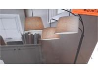 Threshold 3-Head Floor Lamp - NEW