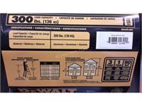 Dewalt Ladder - 300lbs - NEW