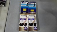 Lot of 4 Elbow Compression Brace + Miracle Socks