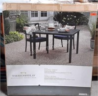 Threshold Dining Table With Steel Frame