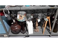 Lot of Assorted Desk Lamps and Shades