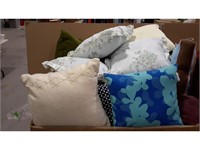 Lot of Assorted Pillows