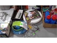 Lot of Assorted Items - Bottles , Aqua Globe, Etc
