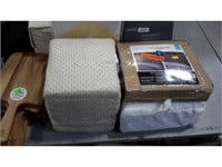 Lot of Assorted Bedding and Timers