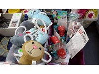 Lot of Assorted Toys and Pet Items