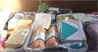Lot of Assorted Bedding and More