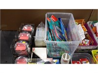Lot of Assorted Stationary Items