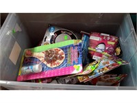 Lot of Assorted Toys, Helmets and Games