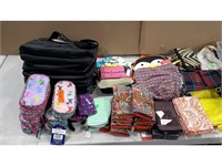Lot of Assorted Wallets, Pencil Cases and Bags