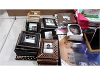 Lot of Assorted Photo Frames